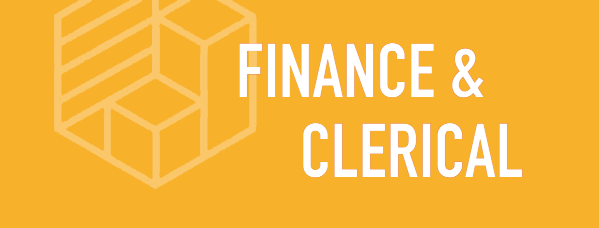finance clerical sector